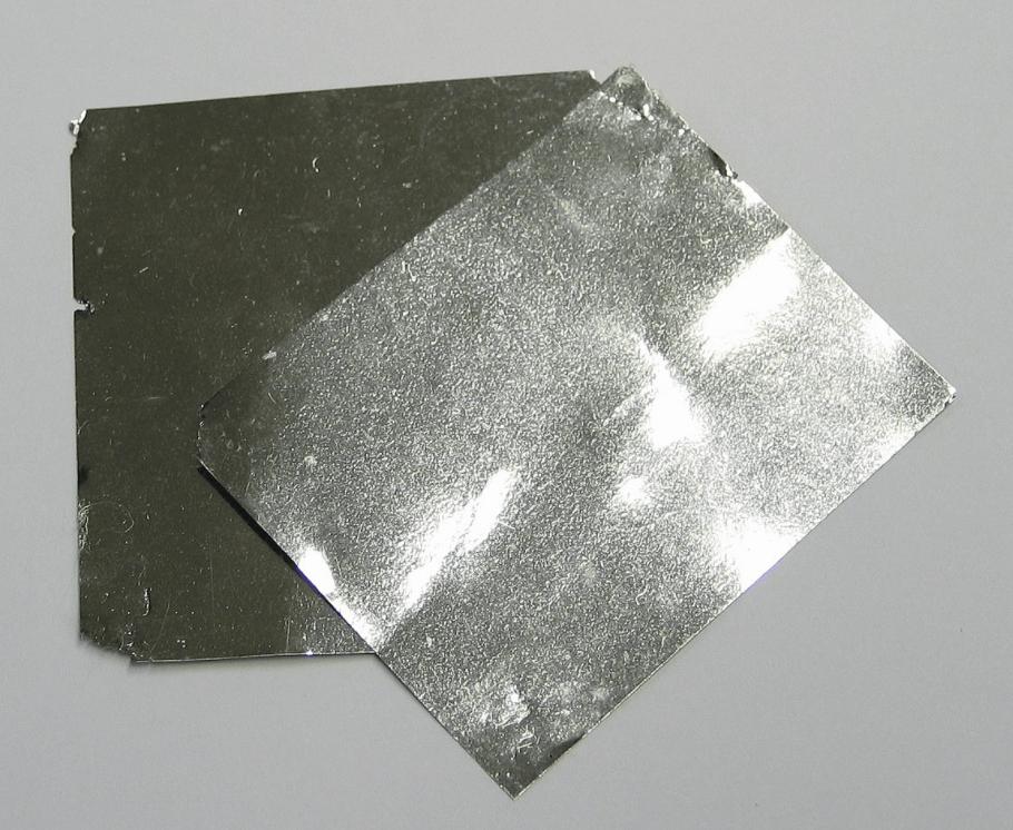 feuille d'iridium