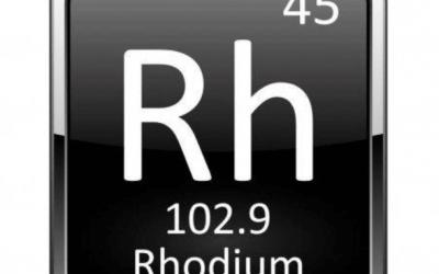 Le rhodium : le métal qui s'est envolé